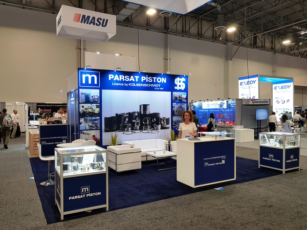 Parsat Piston attended to Aapex Show Las Vegas 2017 at Hall 2 Stand No: 876 between October 30th – November 1st, 2018.